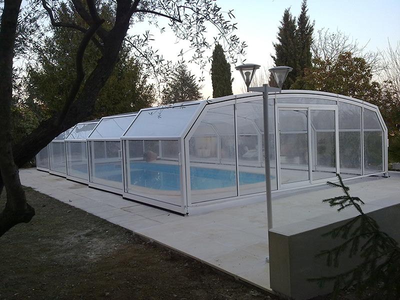 Fabricant d 39 abri piscine montpellier h rault bel abri for Abris piscine occasion