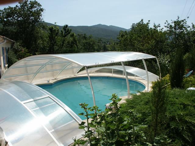Abri piscine modèle Berlin
