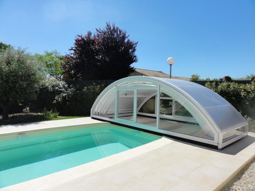 abri piscine haut cintr mod le madrid bel abri. Black Bedroom Furniture Sets. Home Design Ideas