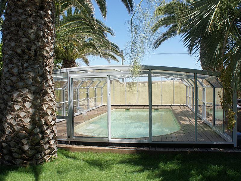 abri piscine haut modèle Paris