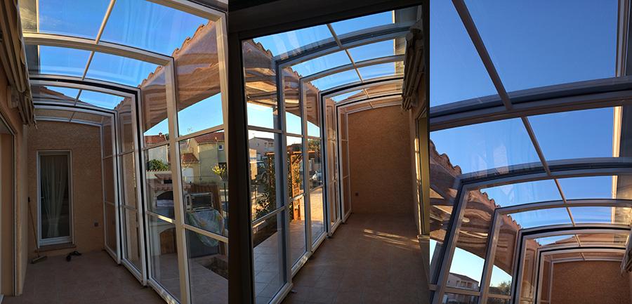 abri de terrasse toit pour terrasses bel abri. Black Bedroom Furniture Sets. Home Design Ideas