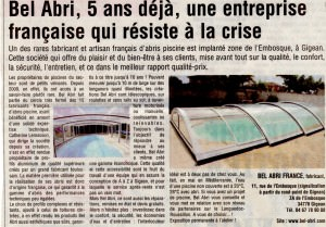 ARTICLE MIDI LIBRE 2014