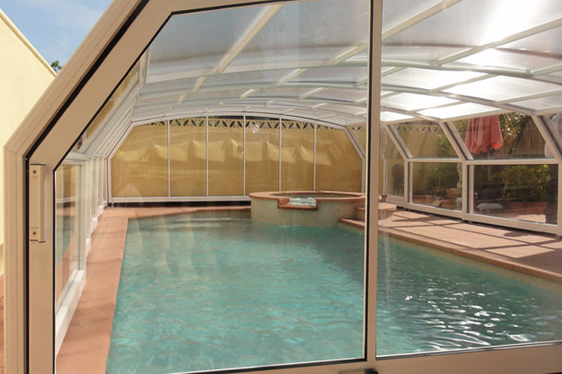 Abris de piscine sur mesure for Piscine paris 11