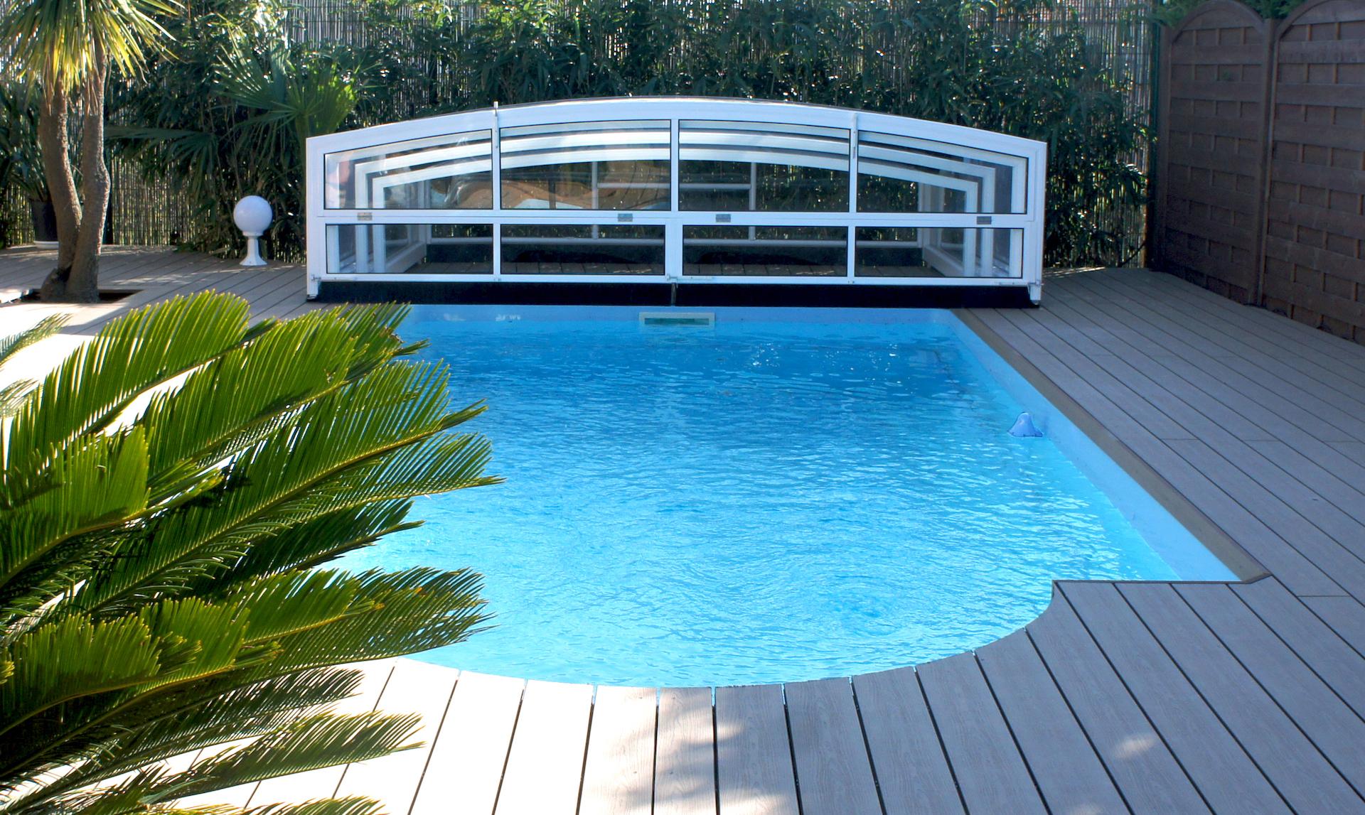 Abri piscine Athène haut
