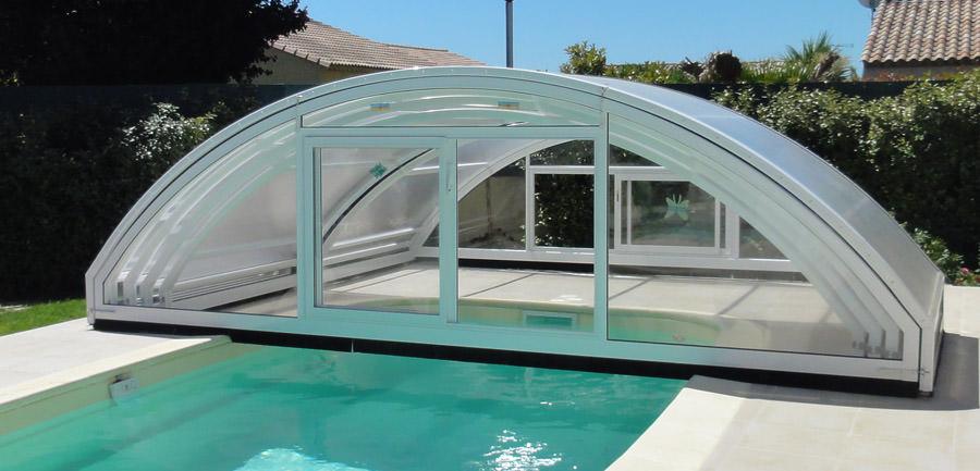 Abri piscine modèle Madrid