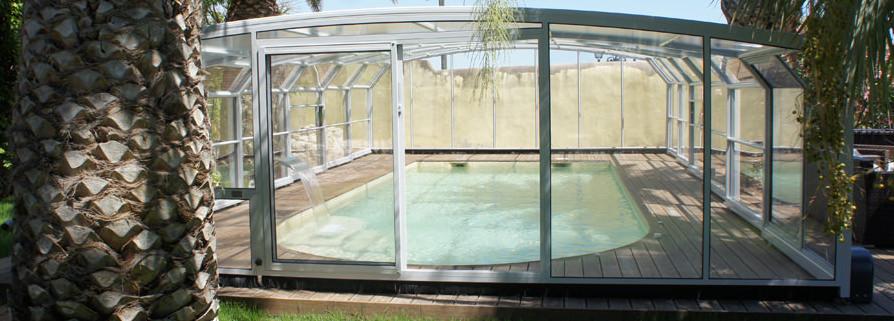 Abris piscine haut modèle Paris