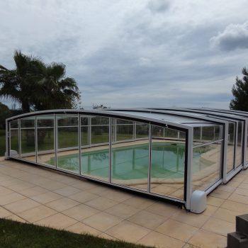 abri piscine telescopique coulissant athenes