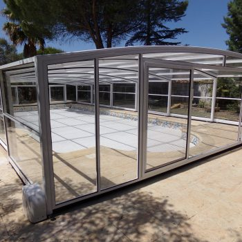abri piscine coulissant made in france modele athenes