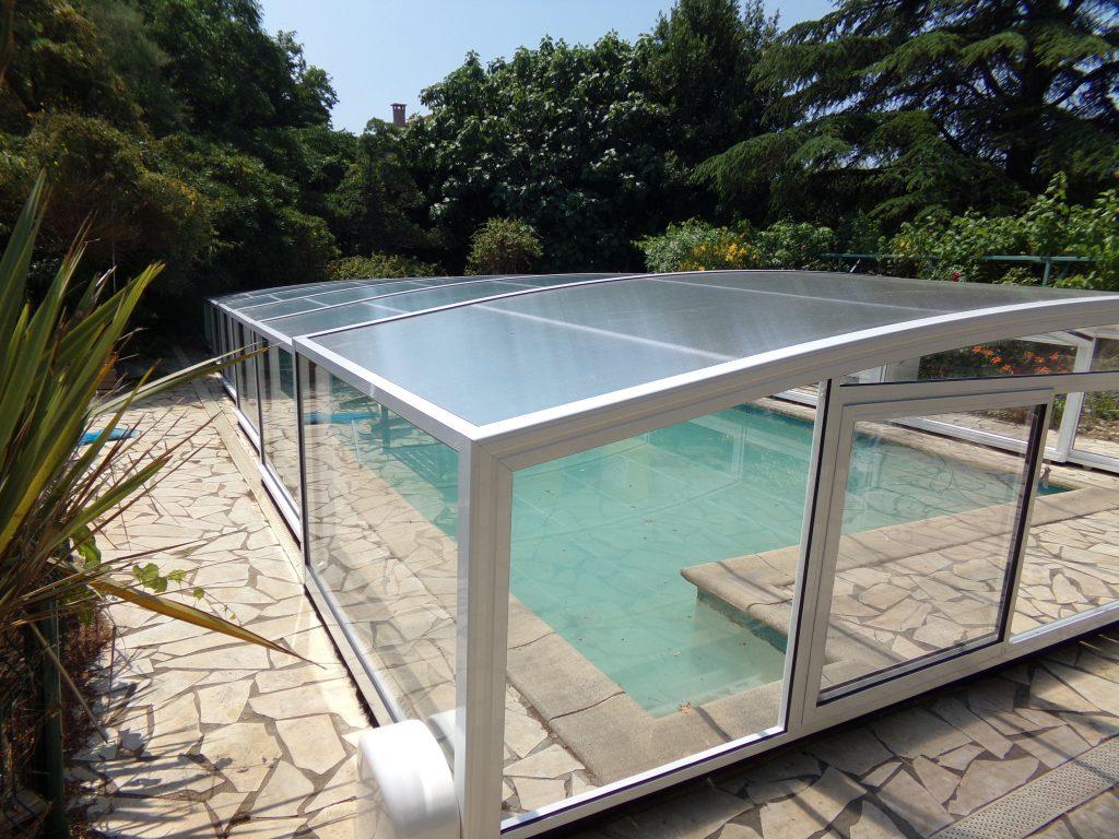 abri piscine medium athene blanc